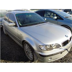 BMW 330I 2003 O/S SALV-DON