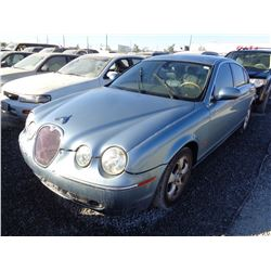 JAGUAR S-TYPE 2005 L/S-DONATION