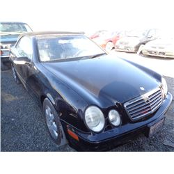 MERCEDES CLK320 2003 T-DONATION