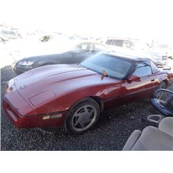 CHEVROLET CORVETTE 1988 T-DONATION