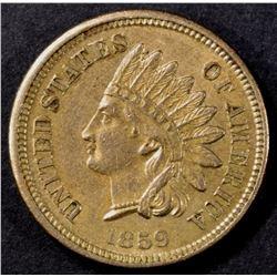1859 INDIAN CENT AU