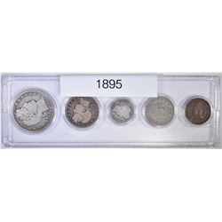 1895 COIN YEAR SET
