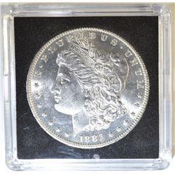 1881-O MORGAN DOLLAR  CH/GEM BU