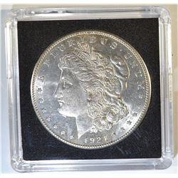 1921-S MORGAN DOLLAR  CH/GEM BU