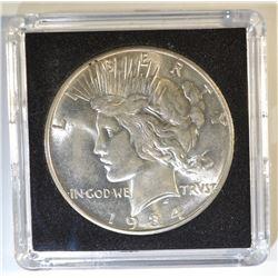 1934-D PEACE DOLLAR   CH/GEM BU