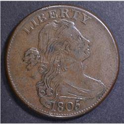 1805 LARGE CENT  CH AU