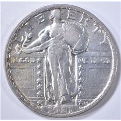 1921 STANDING LIBERTY QUARTER  XF/AU