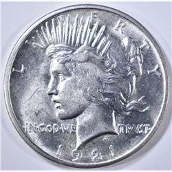 1921 PEACE DOLLAR  CH BU