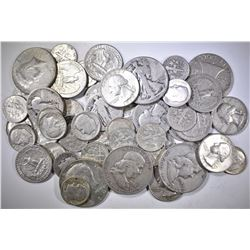 $10 FACE VALUE MIXED 90% SILVER COINS