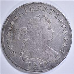 1798 BUST DOLLAR XF