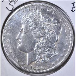 1880-S MORGAN DOLLAR, BU