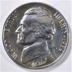 1939 JEFFERSON NICKEL  GEM PROOF