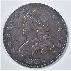 1825 BUST QUARTER   XF