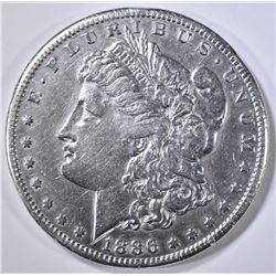 1886-S MORGAN DOLLAR XF/AU