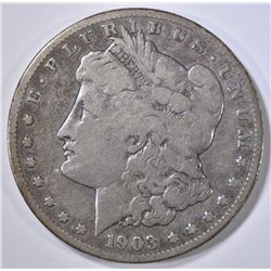 1903-S MORGAN DOLLAR VG
