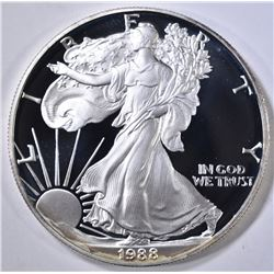 1988-S PROOF AMERICAN SILVER EAGLE