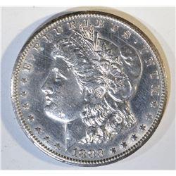 1883-CC MORGAN DOLLAR BU CLEANED