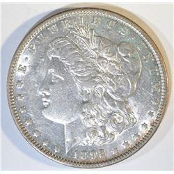 1892-O MORGAN DOLLAR CH AU