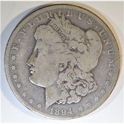 1894-O MORGAN DOLLAR VG