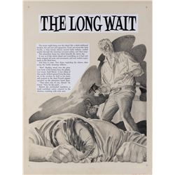 Johnny Craig original artwork for Terror Illustrated #3 complete 10-page story 'Long Wait'.