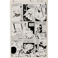 Steve Ditko original artwork for The Amazing Spider-Man #37 Page 7.