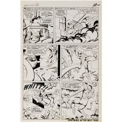 Steve Ditko original artwork for The Amazing Spider-Man #37 Page 8.