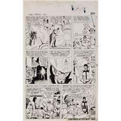 Steve Ditko original artwork for Strange Tales #131 Page 3.