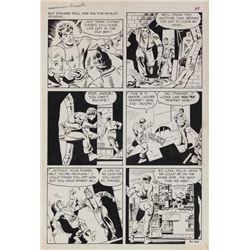 Steve Ditko original artwork for Thunder Agents #16 Page 11.