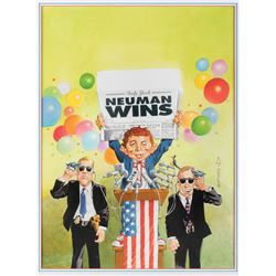Mort Drucker original cover artwork for MAD Magazine Super Special #115.