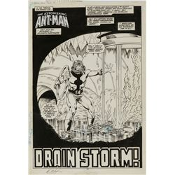 Bob Layton MCP #11 complete 8-page story 'Drain Storm' featuring 'Ant-Man'.