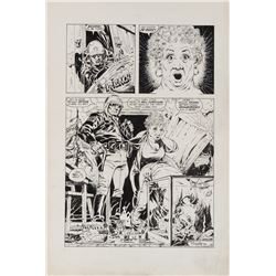 Mike Ploog original artwork for Page 8 of 'Over His Head' from Twisted Tales #2.