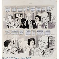 Angelo Torres original artwork for MAD Magazine #173 complete 5-page story parodying Kojak.