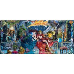 Barry Windsor-Smith original monumental painting 'Artemis & Apollo'.