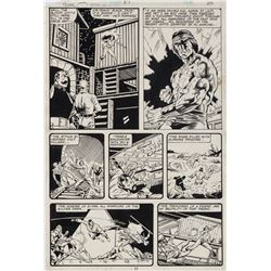 Mike Zeck and Gene Day original artwork for Master of Kung Fu #89 Page 22.