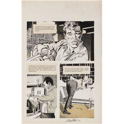 Neal Adams original artwork for an unknown Warren publication.