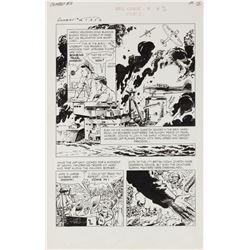 Sam Glanzman 30-pages of original artwork for Combat #16.