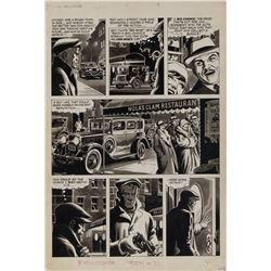 Russ Heath original artwork for Creepy #92 original 8-page story 'The Executioner'.