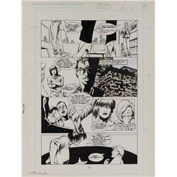 Adam Hughes and Rick Magyar original artwork for The Maze Agency #4 Page 20.