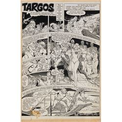 Jack Katz original artwork for Creepy #45 complete 10-page story 'Targos'.