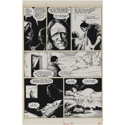 Val Mayerick (9) pages of original artwork from the story 'Fever' for Vampirella #82.