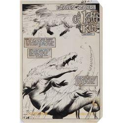 Val Mayerik original artwork for Ka-Zar #17 complete 7-page story 'Tales of Zabu: Of Kith and Kin'.