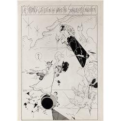 P. Craig Russell original artwork from Dr. Strange Classics #3.