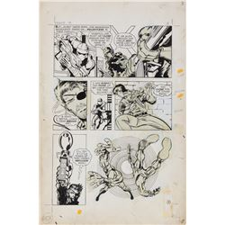 Barry Windsor-Smith original artwork for Nick Fury, Agent of S.H.I.E.L.D.