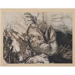 Arthur Rackham (5) engravings.