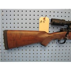 a5... Winchester model 70 bolt action floorplate 22 250 caliber comes with Burris drop tine rifle sc