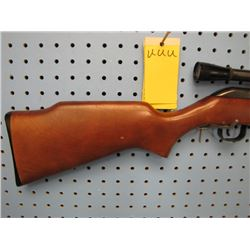 uuu... Cooey Model 64 B semi-auto clip 22 cal long rifle with Weaver scope