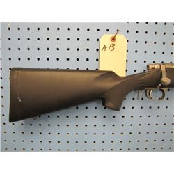 a13... Remington model 700 ml bolt action 50 calibre stainless steel barrel synthetic stock drilled