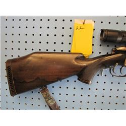 LL... MANNLICHER SCHONAUER M72 bolt action internal clip set trigger 30  06 full Woodstock Bushnell