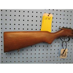 WW... Cooey model 75 bolt action single shot 22 short long and long rifle made in Canada by Winchest