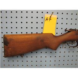 a7... Cooey  model 75 bolt action single shot 22 calibre
